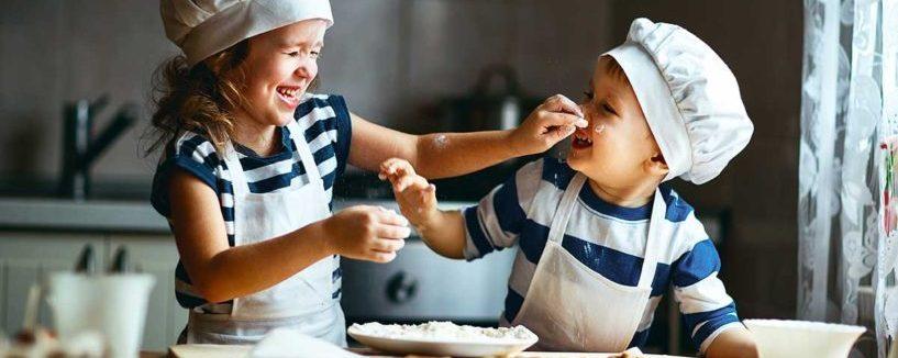 Cookerburra Oven Cleaning - Kids baking